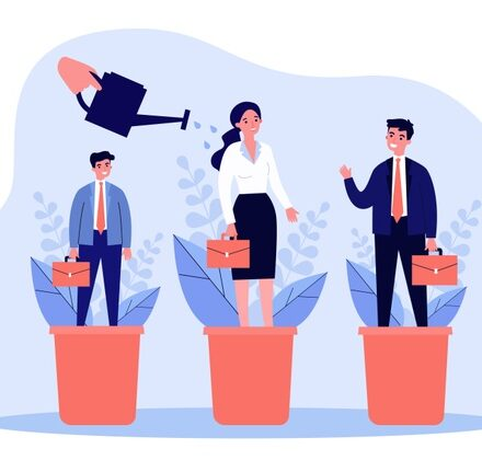 career-training-concept-employees-standing-flowerpots-hand-watering-plants-people-illustration-business-professionals-growth-development-topics_179970-2318